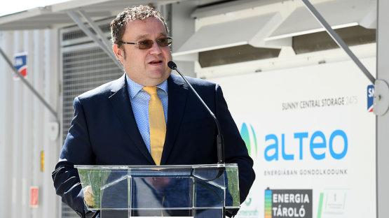 Átadták Magyarország első ipari méretű akkumulátoros energiatárolóját
