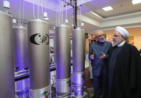 Irán felmondja az atomalku egyes részeit