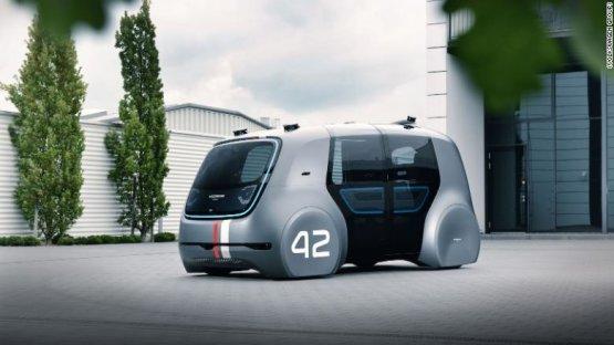 Rákapcsolt az önjáró autók fejlesztésére a Volkswagen