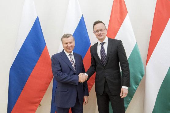 Szijjártó Péter Budapesten fogadta a Gazprom igazgatótanácsának elnökét