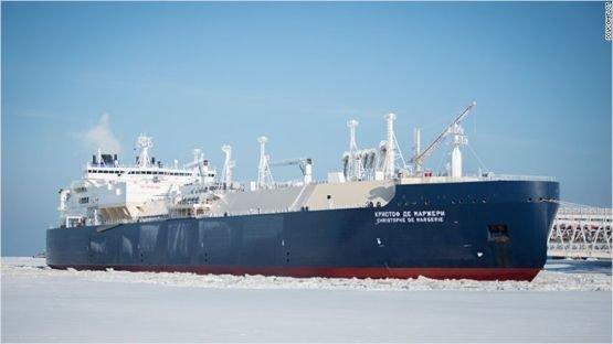 Jégtörő nélkül haladt át a tanker az Északi-sarknál