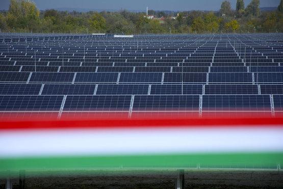 Közel 9000 háztartás energiaellátását biztosítja a MET naperőműve