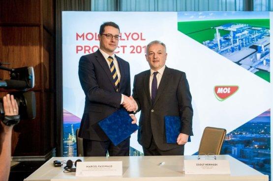 Elindult a MOL-csoport történetének legnagyobb organikus beruházása Tiszaújvárosban