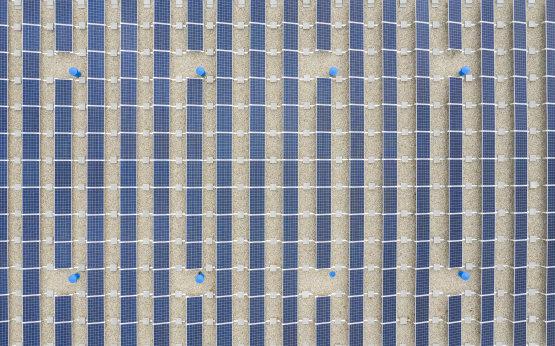 Átadták a Fővárosi Vízművek napelemparkját Csepelen