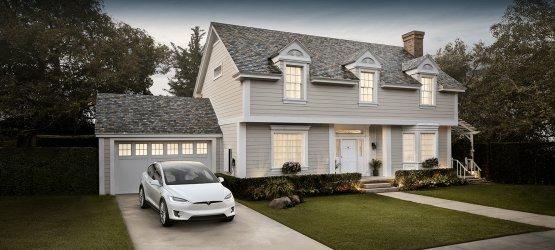 Tesla-háztető: első ránézésre semmi különös, na de közelről! - Videó