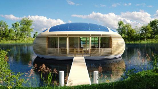 Hőszigetelés, LED világítás, napelem - a környezetbarát épület ennél többet jelent