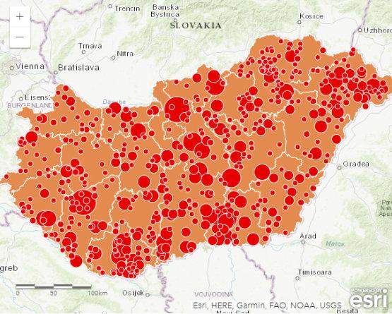 Hol épülnek naperőművek Magyarországon? – Interaktív térkép