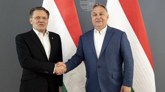 Orbán Viktor a Roszatom vezérével találkozott