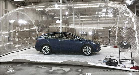 Gyorsan és hatékonyan szűri a legszennyezettebb levegőt is a Tesla