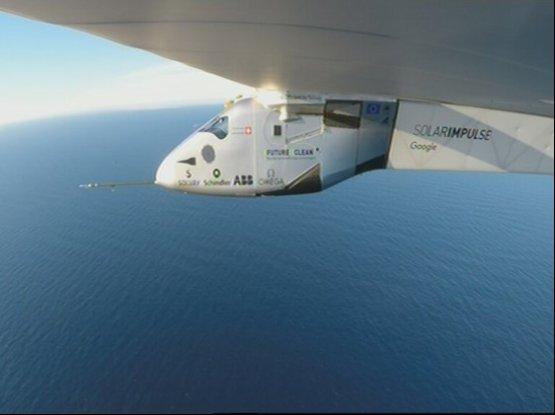 Leszállt Európában a Solar Impulse