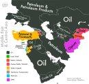 Mit exportálnak a közel-keleti országok? - infografika
